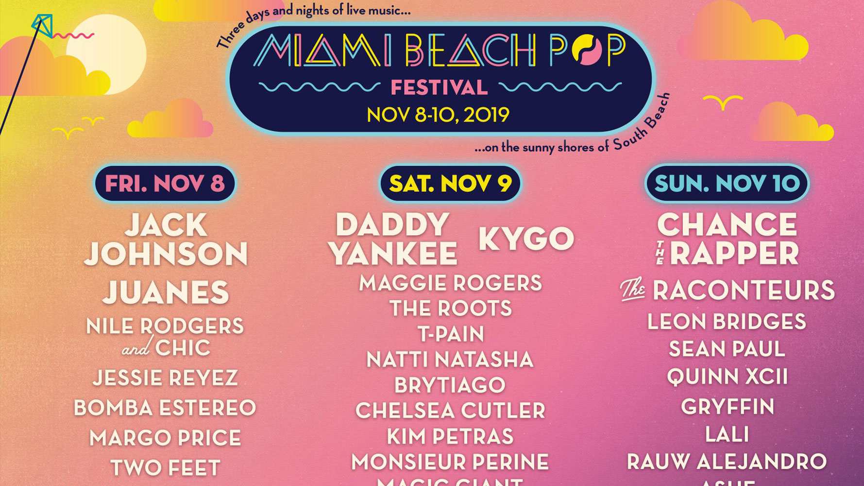 Miami Beach Pop Festival 2019